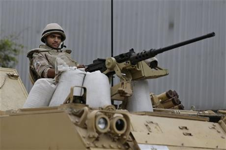 ISRAEL QUIETLY MAINTAINS TIES WITH EGYPTIAN ARMY