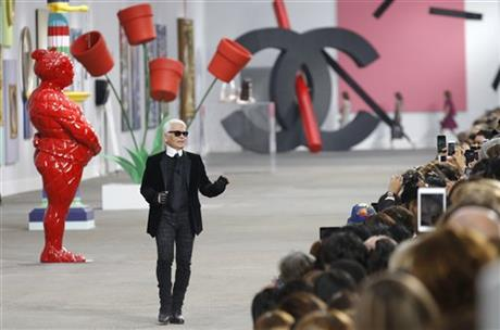 CHANEL DAZZLES WITH COLOR, AS FASHIONS GO ETHNIC