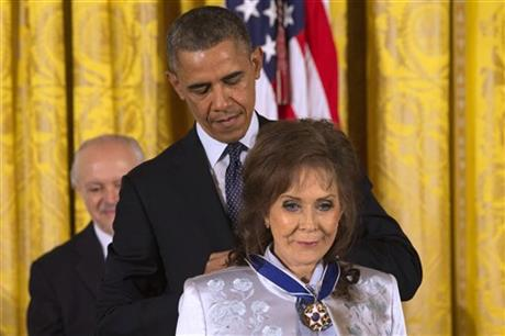 A look at Presidential Medal of Freedom recipients