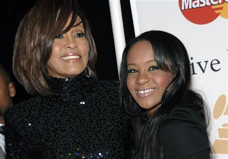 Whitney Houston's daughter found unresponsive in tub