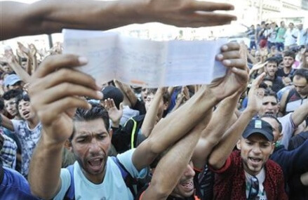 Chaos in Budapest train station amid Europe's migrant crisis