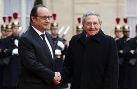 France calls on US to lift economic embargo on Cuba