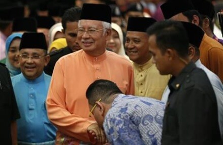 Malaysia's PM says he's serious about good governance