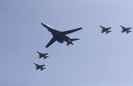 US flies bombers over S.Korea in show of force against North