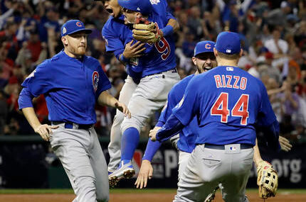 Cubs win 1st Series title since 1908, beat Indians in Game 7